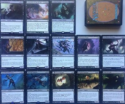 Instant VAMPIRE DECK! Ready To Play 60 Cards Mtg Black