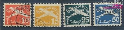 Gdansk 298-301 fine used / cancelled 1938 Postage stamp, WZ 5 (8062943