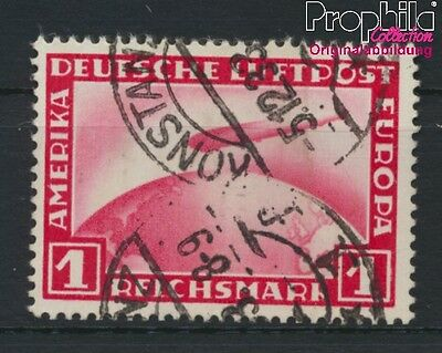 German Empire 455 fine used / cancelled 1931 Count Zeppelin (8984245