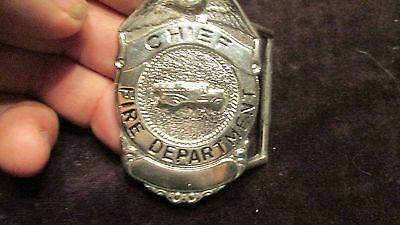 Belt Buckle ( Fire Chief )