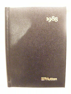 Unused EF Hutton Stock Brokerage 1988 Diary/Appointment Book/History & Pictures