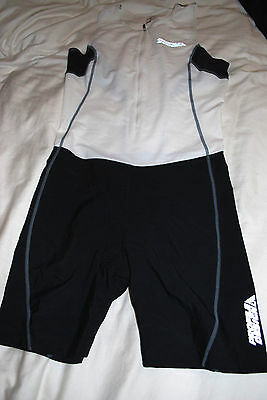 Mens Suit Triathlon Skinsuit Trisuit Tri Spandex Profile Design Large L Lg 1 Pc