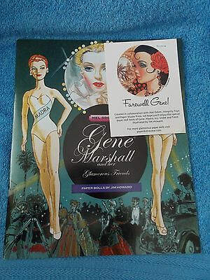 2010 Gene Marshall Doll & Friends Paper Dolls By Jim Howard Integrity Convention