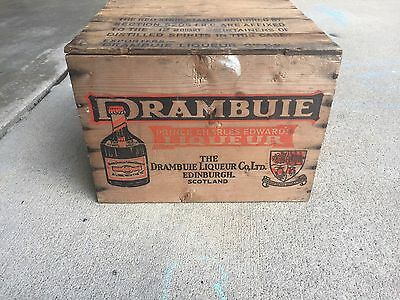 Drambuie Wood Crate, Great Condition