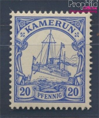 Cameroon, German Colony 10 hinged 1900 Ship Imperial Yacht Hohenzollern (8296805