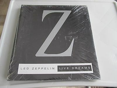 Led Zeppelin: Live Dreams Hardcover Book  Laurance Ratner New Sealed