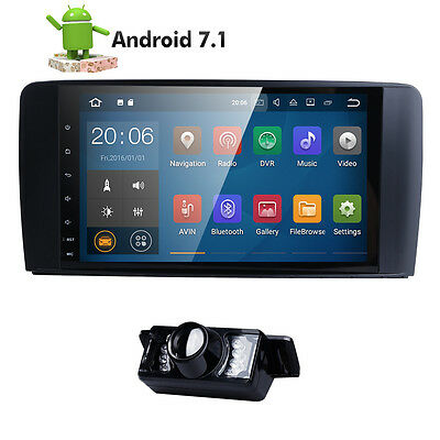 """Android 7.1 Car Radio GPS System 9"""" Stereo for Mercedes Benz ML-W164 GL-X164+Cam"""