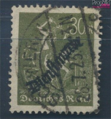 German Empire D76 proofed fine used / cancelled 1923 Groups of workers (8248758