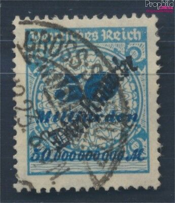 German Empire D88 proofed fine used / cancelled 1923 sample basket lid (8031167