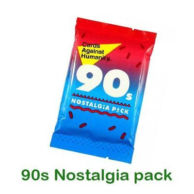New Cards Against Humanity-Booster Expansion Party Game 90's Nostalgia pack