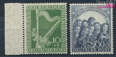 Berlin (West) 72-73 unmounted mint / never hinged 1950 Philharmonic (8830830