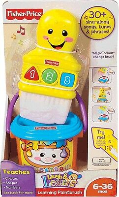 NEW Fisher Price Learning Paint Brush from Mr Toys