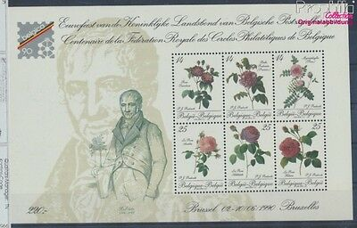 Belgium block61 unmounted mint / never hinged 1990 Belgica 90 (8670012