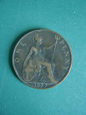 1899 Victorian Penny