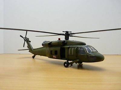 Helicoptere Sikorsky Uh-60 Black Hawk Us Army 1/60