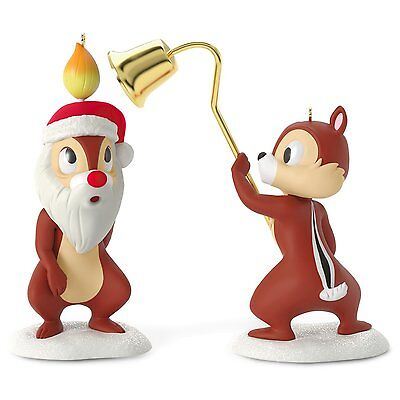 2016 Hallmark Ornament Chip and Dale A Merry Pair (Disney)