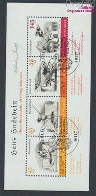 FR of Germany block71 first-day stamp fine used / cancelled 2007 Bush (8910579