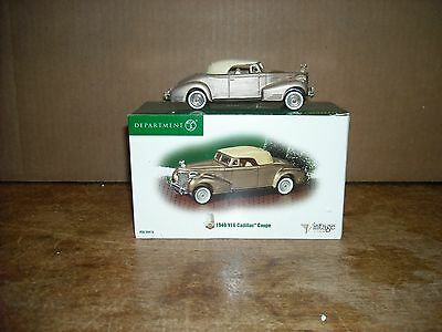 Dept 56 1940 V16 Cadillac Coupe