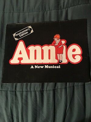 "ANNIE ""A NEW MUSICAL"" SOUVENIR PROGRAM with LOUANNE AS ANNIE"