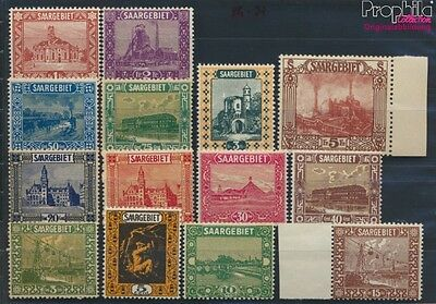 Saar 84-97 unmounted mint / never hinged 1922 Landscapes (III) (8777365