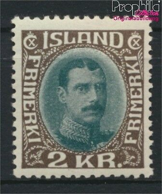 Iceland 166 with hinge 1931 Christian (8883165