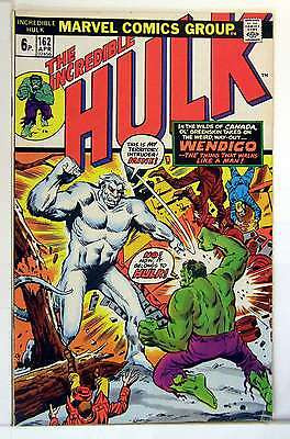 Incredible Hulk (Vol 2) # 162 (VryFn Minus-) (VFN-) Price VARIANT RS003 COMICS
