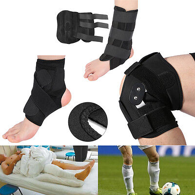Adjustable Ankle Support Foot Brace Knee Support Brace Strap Wrap Bandage DH