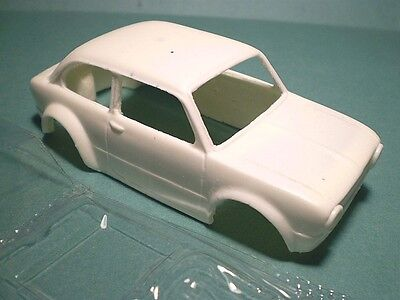 Seat/fiat 850 Rally Resin Bodyshell Carroceria De Resina Slot Car 1/32 A2M