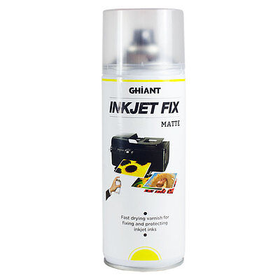 Ghiant : Ink Jet Fixative : 400ml : Satin : By Road Parcel Only