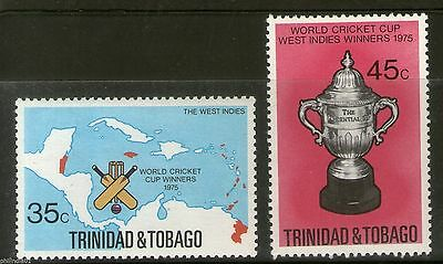 Trinidad & Tobago 1975 West Indies World Cup Cricket Winner MNH