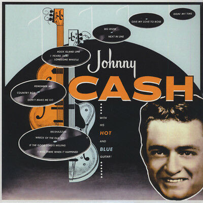 Johnny Cash - With His Hot And Blue Guitar (Vinyl LP - 1957 - EU - Reissue)