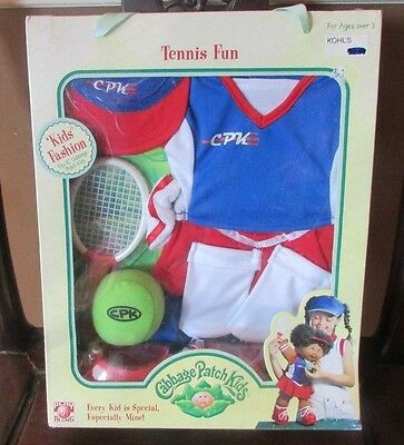 Cabbage Patch Kids BRAND NEW 2004 Tennis Fun Fashion Outfit
