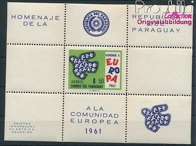 Paraguay block15 unmounted mint / never hinged 1961 Europe (8940425
