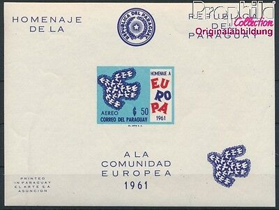 Paraguay block17 unmounted mint / never hinged 1961 Europe (8940423
