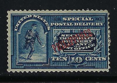 1899 Philippines E1 special delivery unused (faults)