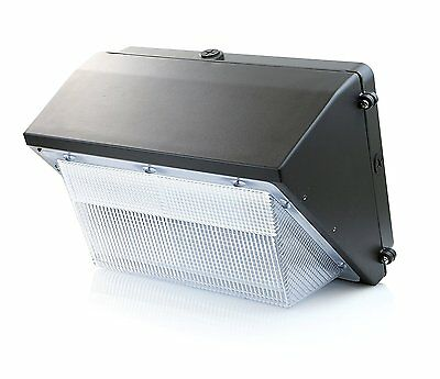 Hyperikon LED 70W Wall Pack Fixture, 350-400W HPS/HID Replacement, 5000K