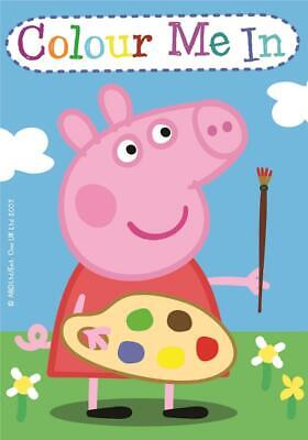 CLEARANCE Peppa Pig Mini Colouring Book Party Favours x 4