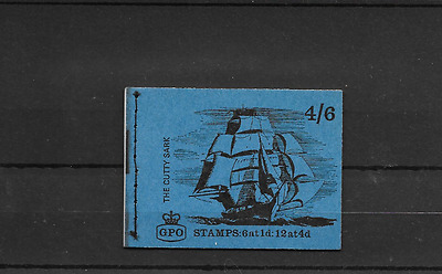 GB 1968 July Cutty Sark 4/6d Stitched Booklet - LP 46
