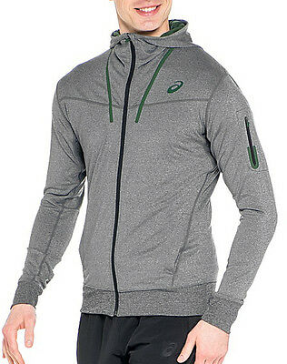 Asics Essential Mens Full Zip Hoody - Grey