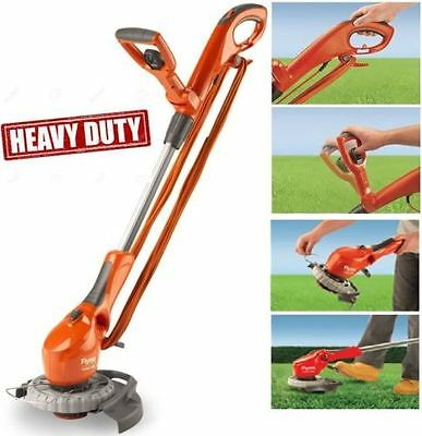 New Flymo Contour 650E Strimmer Contour Corded Grass Strimmer Trimmer Lawn Edge