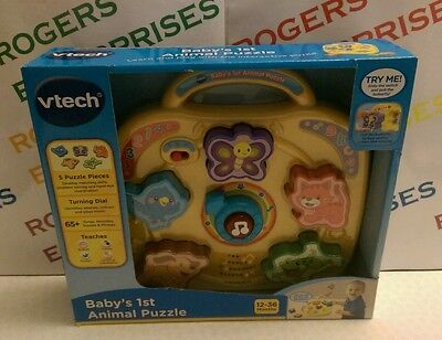 VTech Baby's First Animal Puzzle NEW & Sealed