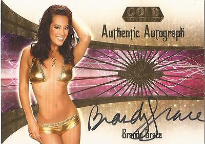 """Benchwarmer 2007 Gold Edition -  #29 of 30 """"Brandy Grace"""" Auto / Autograph Card"""
