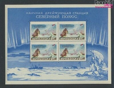 Soviet-Union Block27 MNH 1958 north pole-Station (9027342