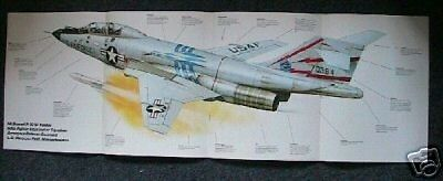 LOOK! MCDONNELL F-101B VOODOO POSTER picture print jet fighter 101