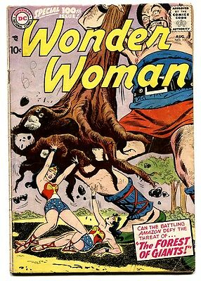 WONDER WOMAN #100 1958 DC Silver Age Comic Book