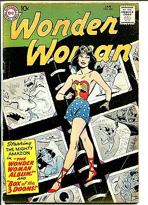 Wonder Woman #103 1959-DC-photo album issue-VG