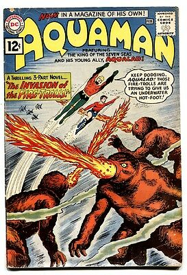 Aquaman #1 comic book First issue DC key issue Silver Age comic 1962