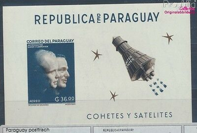 Paraguay Block27 MNH 1962 Study of Outer Space (7660473