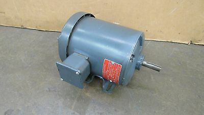 General Electric 5K43Pg1062 1/2Hp .5Hp Electric Motor 208-230/460V 3Ph 1140Rpm