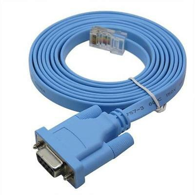 New Console Cable RJ45 to DB9 CabConsole 72-3383-01 CAB for Cisco Switch Router